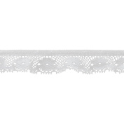 Pico Daisy Lace 2.2cm Wide 12 Yards-White