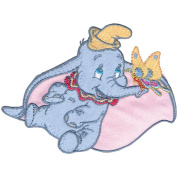 Disney Dumbo With Butterfly Iron-On Applique