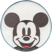 Disney Mickey Mouse Mickey In Circle Iron-On Applique