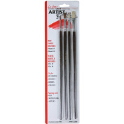 Linzer A444 Artist Paint Brush Set, 4 Pieces
