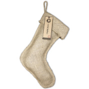 Burlap Large Stocking 28cm x 43cm -