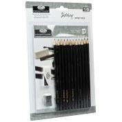 Royal & Langnickel Essentials Sketch Pencil Set