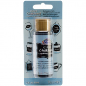 Gloss Enamels Glass Chalkboard Paint 60ml Carded-Black