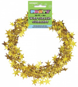 Star Wire Garland 20'/Pkg-Gold