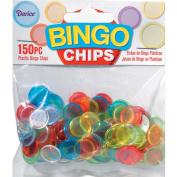 Plastic Bingo Chips 150/Pkg-