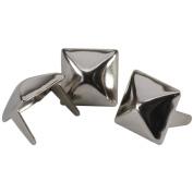 Pyramid Spots 1cm 36/Pkg-Nickel