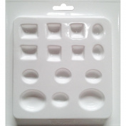 Cool2Cast Assorted Size Jewels Mould-14 Cavity