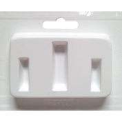 Jewellery Casting Mould-Thin Rectangles Assorted Sizes 3 Cavity