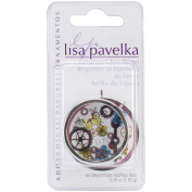Lisa Pavelka Silver Plated Bezel 1/Pkg-Looking Glass