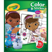 Colour 'N Sticker Book-Doc McStuffins