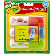 My First  .   Washable Easy Grip Markers 3pc-Red, Blue And Green