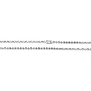 Jewellery Designer Slimpack Silver Metal Chain-60cm Ball Chain