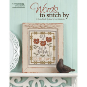 Leisure Arts-Words To Stitch By