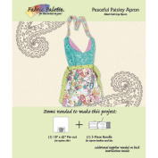 Fabric Editions Design Sheet/Project Card-Peaceful Paisley Apron