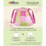 Fabric Editions Design Sheet/Project Card-Gathered Charm Bag