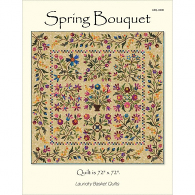 Laundry Basket Quilts-Spring Bouquet