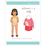Oliver + S Patterns-Book Report Dress