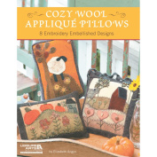 Leisure Arts-Cosy Wool Applique Pillows