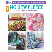 Leisure Arts No-Sew Fleece Throws & Pillows