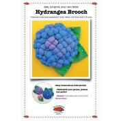 La Todera Patterns-Hydrangea Brooches