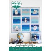 Betz White Patterns-Polar Babies Quilt & Pillow