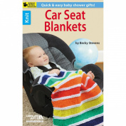 Leisure Arts, Knit Car Seat Blankets