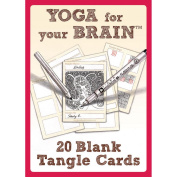 Design Originals-Yoga For Your Brain Blank Tangle Cards