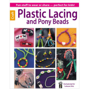 Leisure Arts-Plastic Lacing And Pony Beads