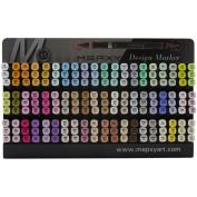 MEPXY Design Marker Assortment Display - Pastel-Hold 180