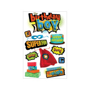 Paper House 3D Stickers-Birthday Boy