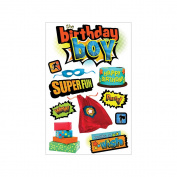 Paper House 3D Stickers-Birthday Boy