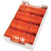 Spool O' Ribbon Woven Edge Solid Assortment-Orange