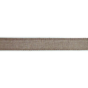 Ruban Chambray Ribbon 1.6cm X27 Yards-Brown