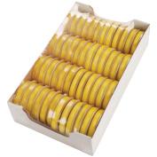 Spool O' Ribbon Woven Edge Solid Assortment-Bright Yellow
