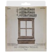 Sizzix Bigz Die By Tim Holtz 14cm x 15cm -Window & Window Box