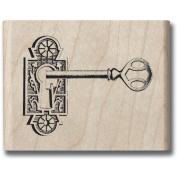 Mounted Rubber Stamp 3.8cm x 3.8cm -Romantique Key