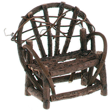 Darice 2835-26 Timeless Miniatures-Vine Double Bench