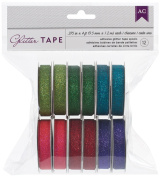 American Crafts Glitter Tape 1.2m 12/Pkg