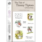 Beatrix Potter EZMount Stamp Set 14cm x 22cm -Timmy Tiptoes