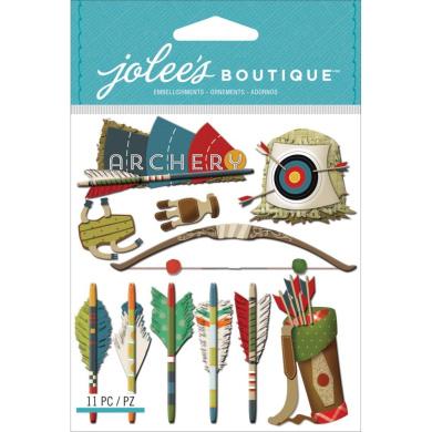 Jolee's Boutique Dimensional Stickers-Archery
