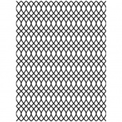 Itty Bitty Webster's Pages Unmounted Rubber Stamp 5.7cm x 7.6cm -Jump Rope