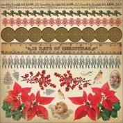 Turtle Dove Cardstock Stickers 30cm x 30cm -Icons