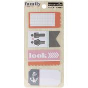 Family Stories Sticky Notes 4 Pads/Pkg-