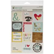 Daily Flash Girl Talk Paper Pad 15cm x 20cm -