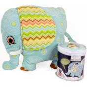 Elephant Stuff Toy Kit-Flash the Elephant