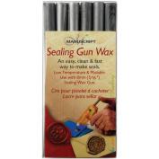 Sealing Gun Wax Sticks 6/Pkg-Silver