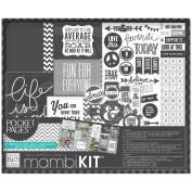 Me & My Big Ideas Boxed Album Kit 30cm x 30cm -Life Is Good