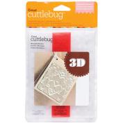 Cuttlebug 3D A2 Embossing Folder/Border Set-Mountain Meadow