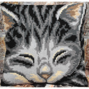 Yasmine Pillow Cross Stitch Kit-38cm - 1.9cm x 40cm