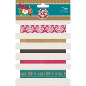 Joyeux Noel Trim 5 Styles/1 Yard Each